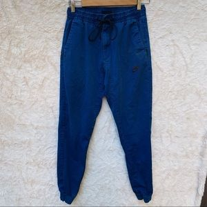 Nike Tech Men's Dark Blue Jogger Cinch Pants